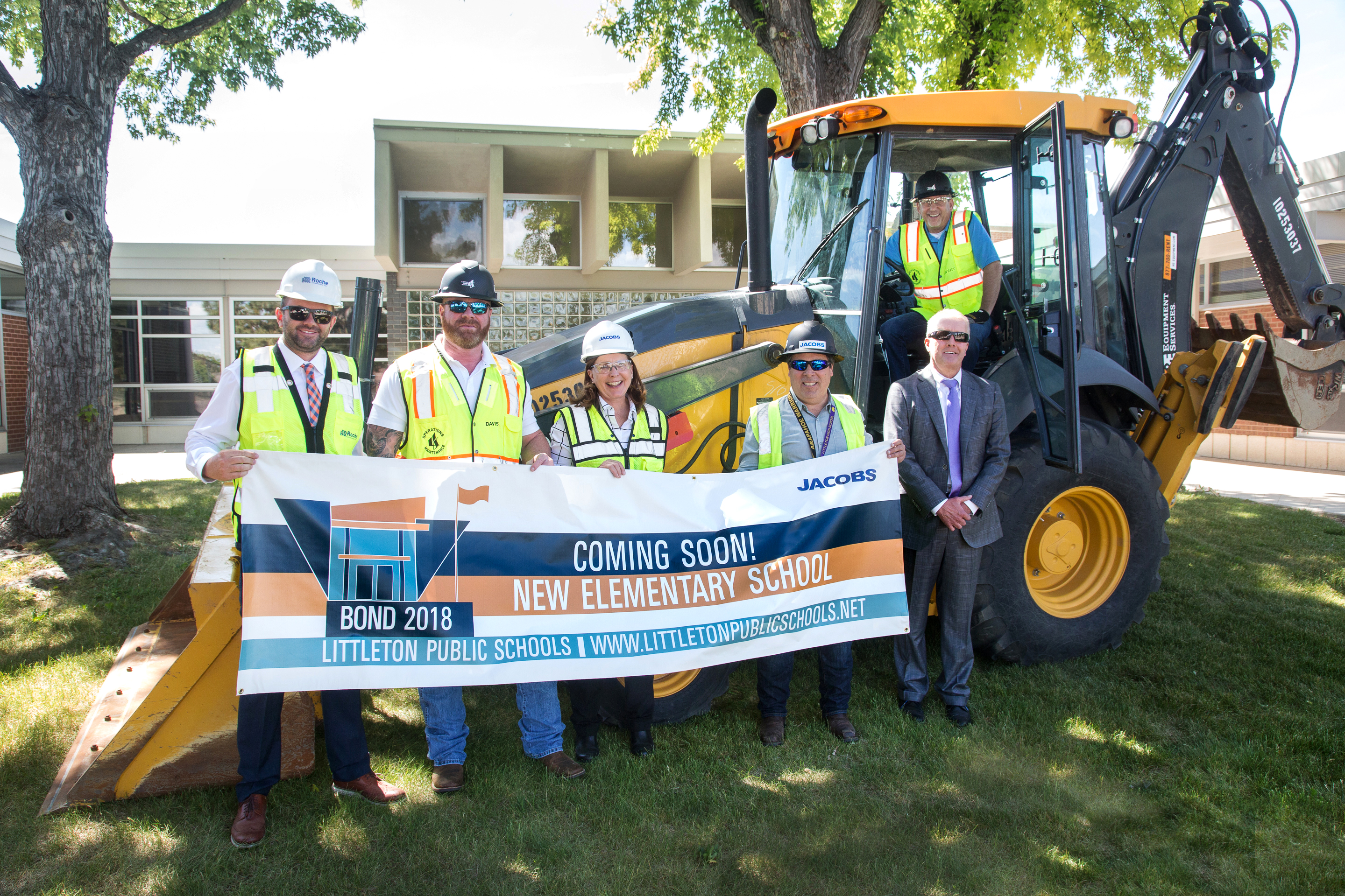 2018 Bond groundbreaking at Ames June 13, 2019