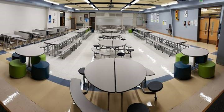 Peabody Elementary School Cafeteria Furniture