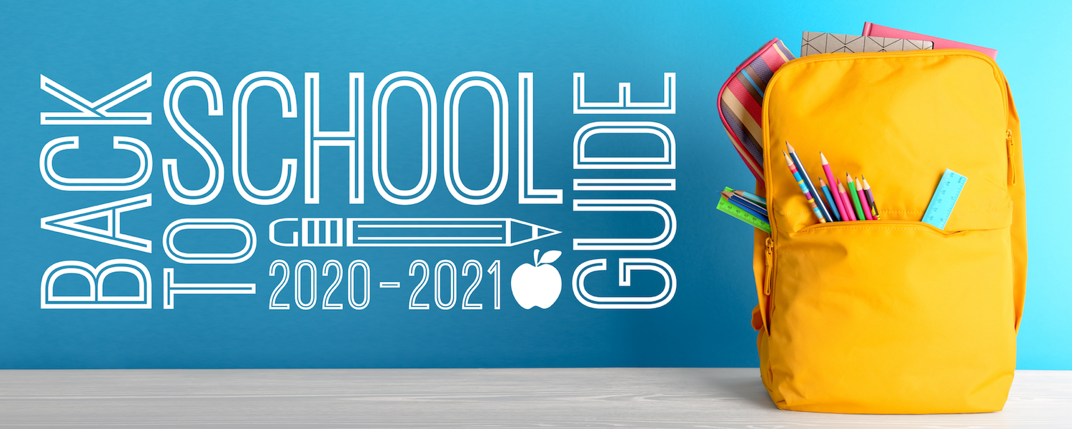 Back to School Guide 2020-2021 Header Image