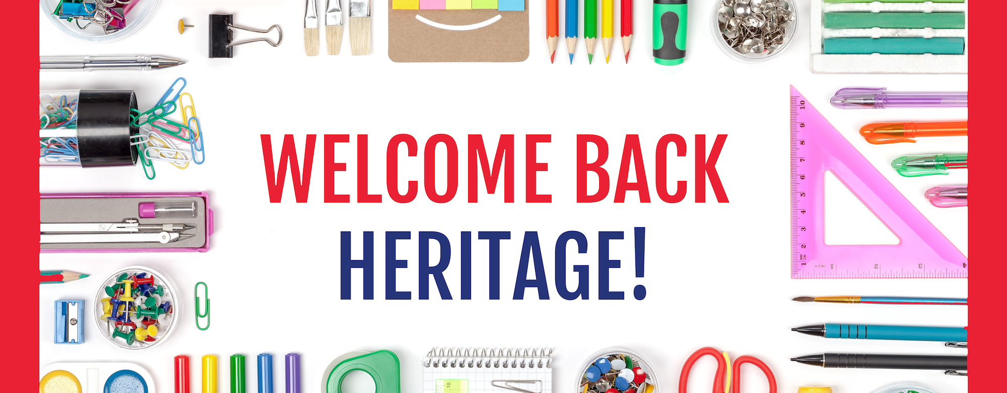 Welcome Back Heritage
