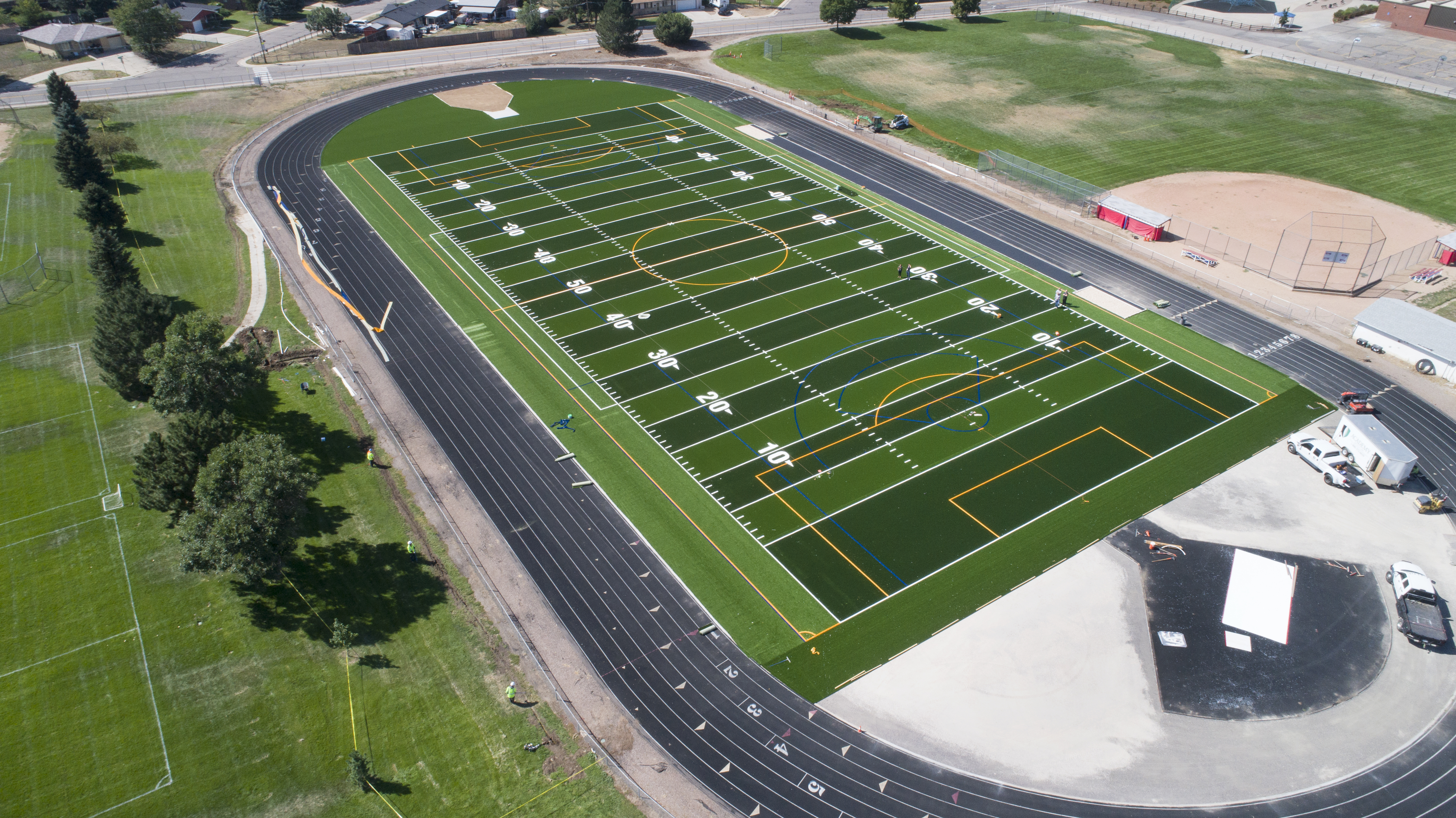 EMS field in final stages of completion August 30, 2019