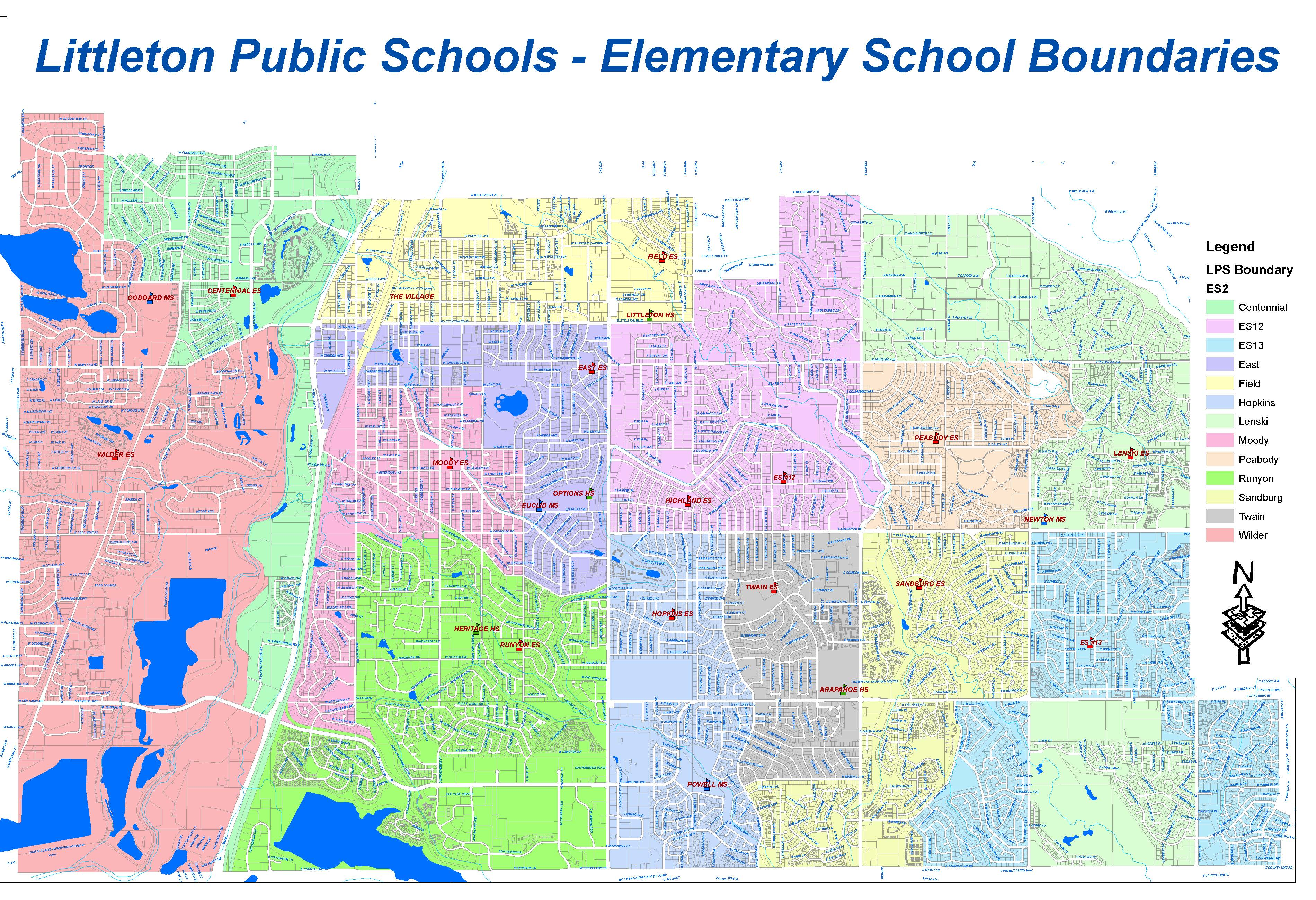 Elementary School Boundaries Effective 2021
