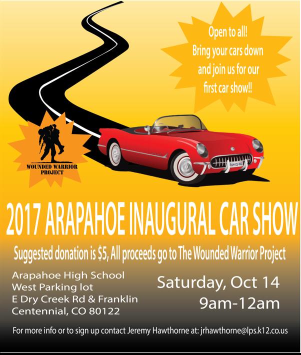 Inaugural AHS Car Show Littleton Public Schools - Littleton car show