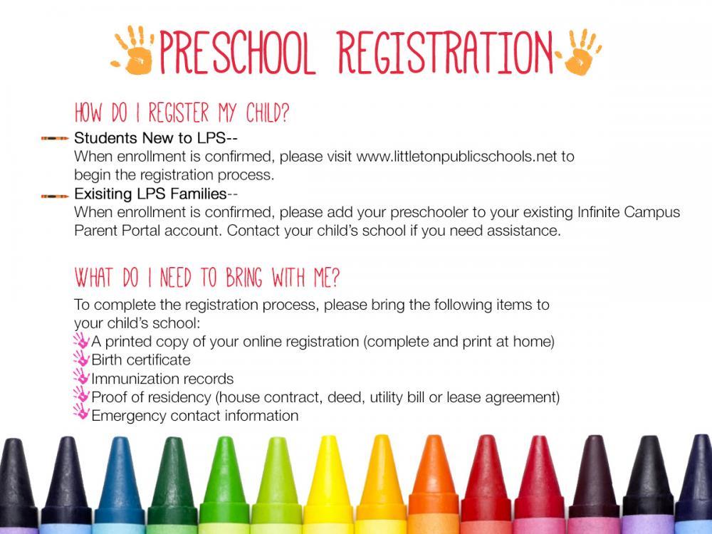Preschool Amp Kindergarten Options Littleton Public Schools