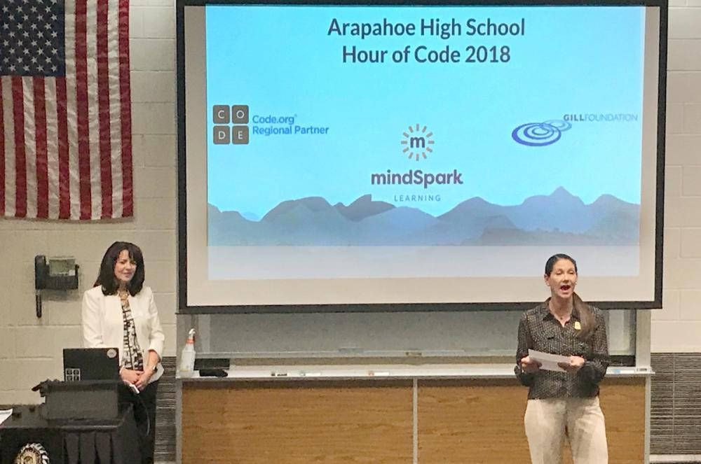 AHS Hosts Hour of Code Event | Littleton Public Schools