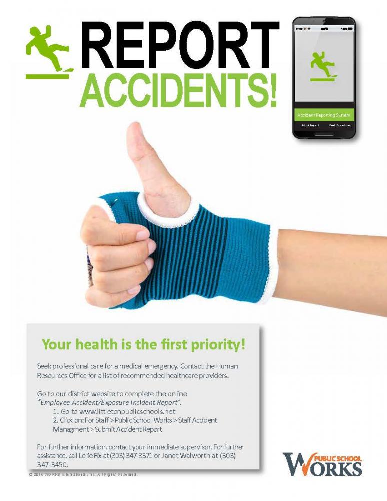 When an Injury Occurs | Littleton Public Schools