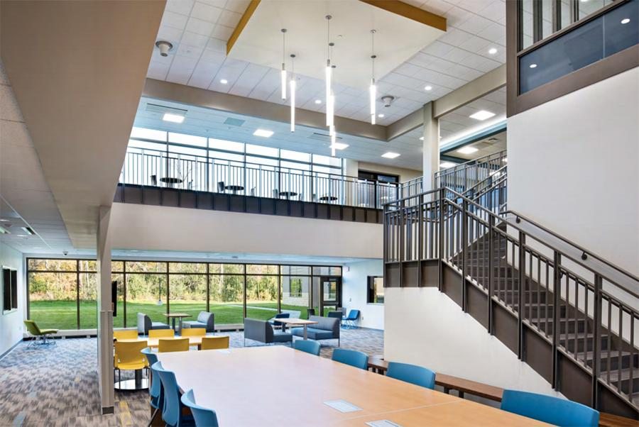 Example of new school interior