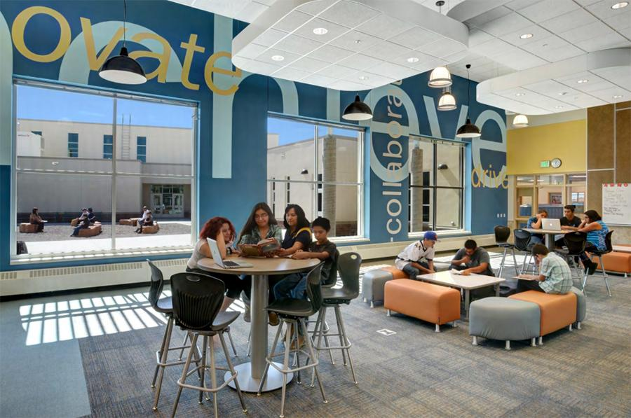 Example of new middle school interior