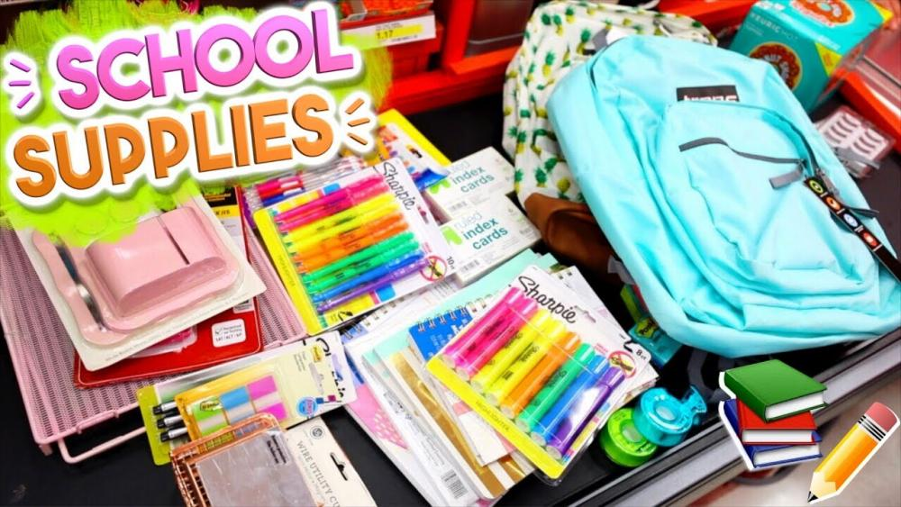 school supplies needed for college
